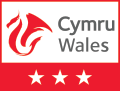 Visit Wales 3 Star Rating